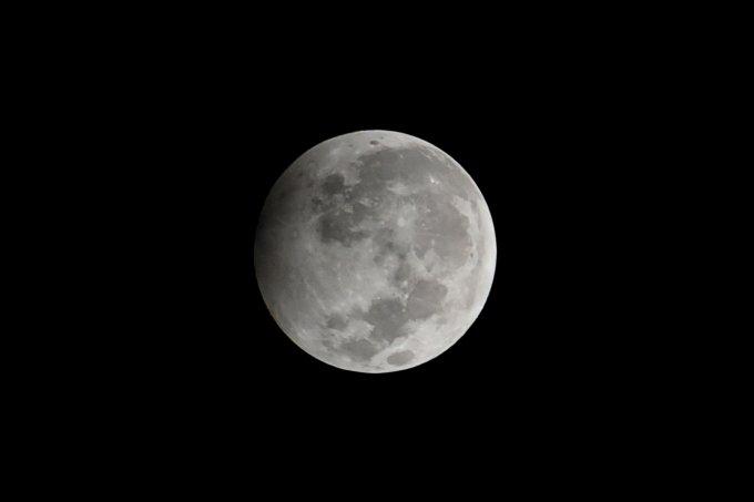 Penumbral Lunar Eclipse In Kolkata