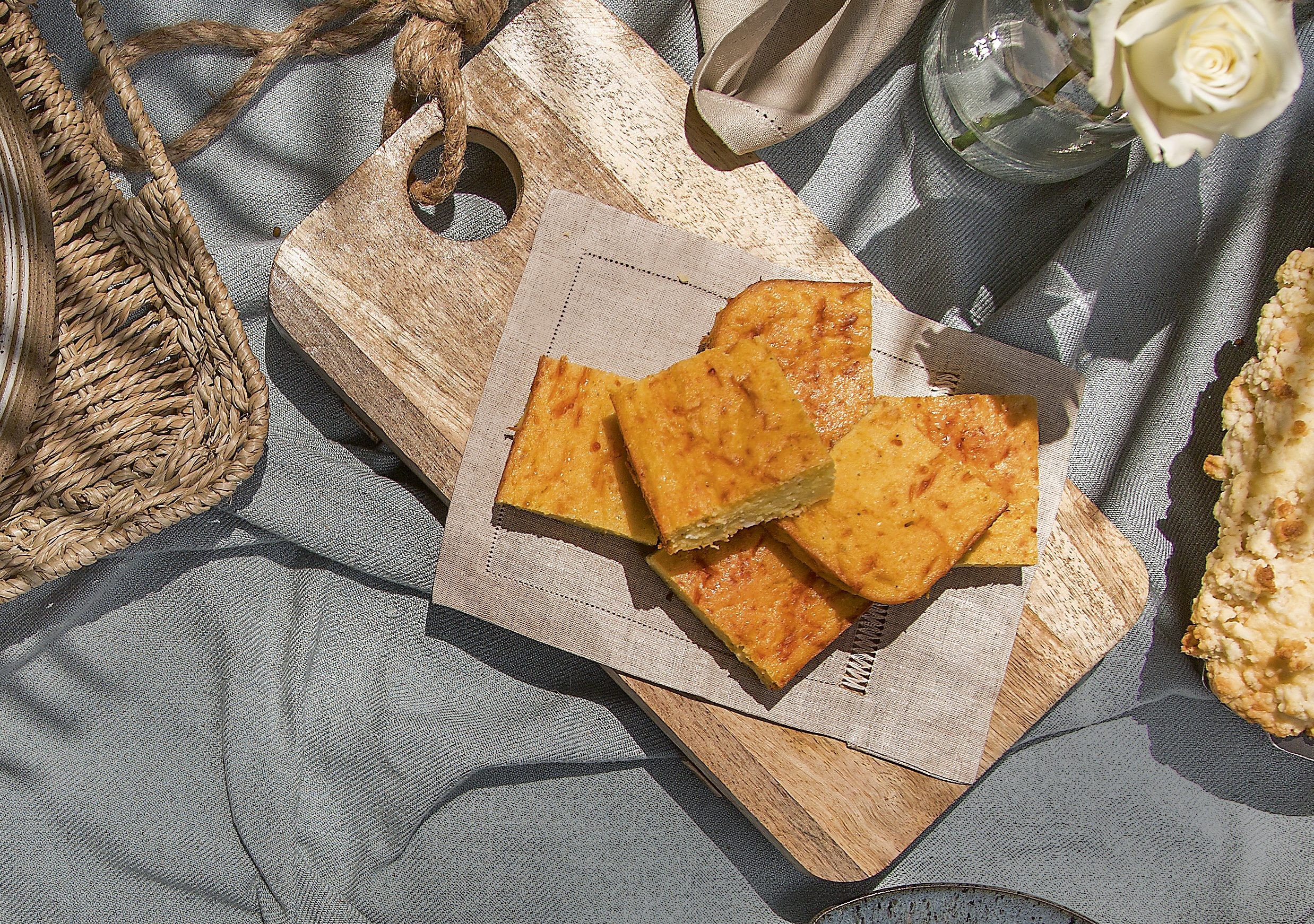 Sopa Paraguaia - Sabores do Brasil - Café da manhã