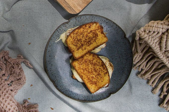 Pão de milho recheado com queijo da Canastra – Sabores do Brasil – Café da manhã
