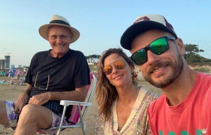 Cleomar Lima, Fernanda Lima e Rodrigo Hilbert