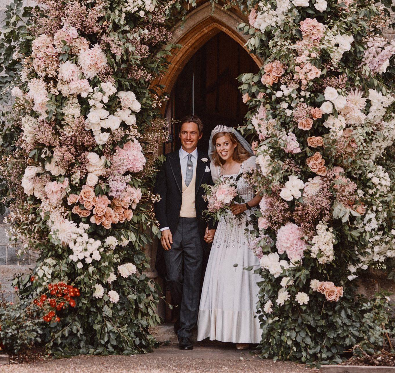 O casamento da princesa Beatrice com o italiano Edoardo Mapelli Mozzi
