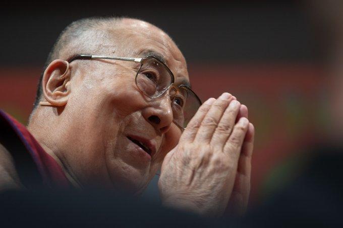 Dalai Lama in Heidelberg