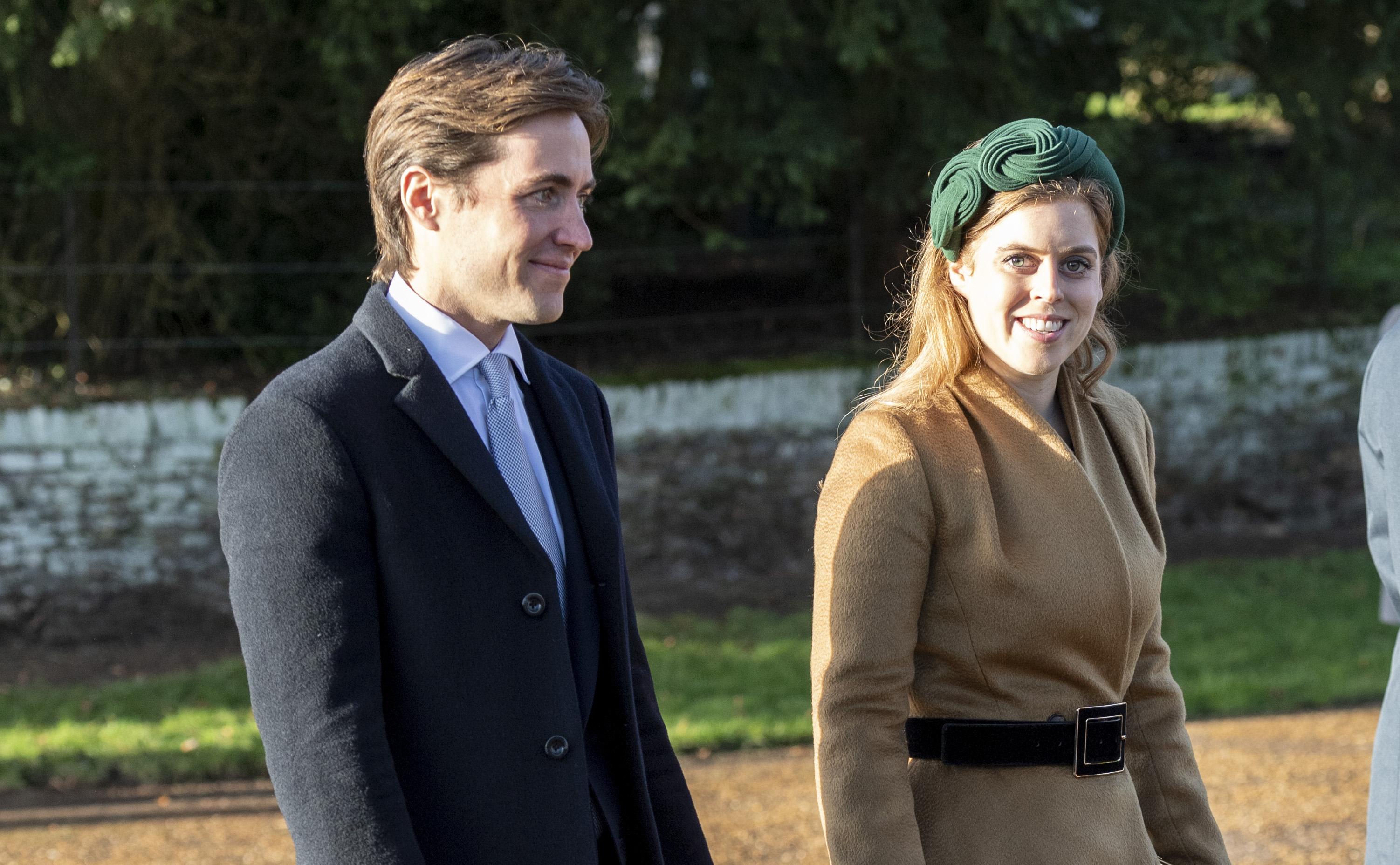 Princesa Beatrice e Edoardo Mozziconi
