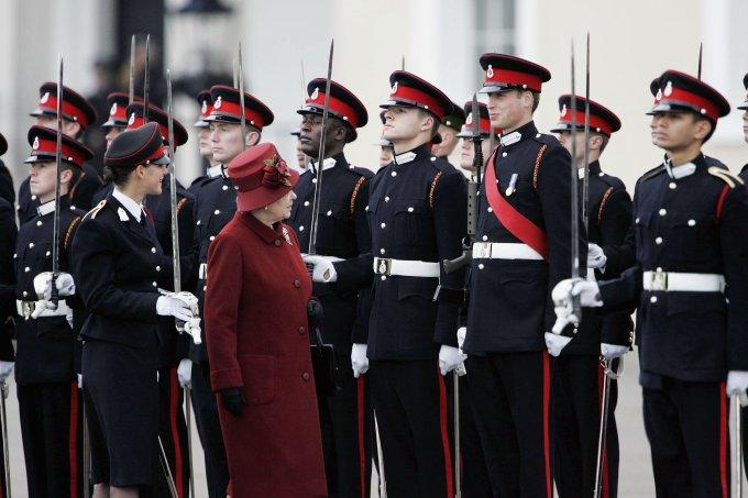 Príncipe William e Rainha Elizabeth