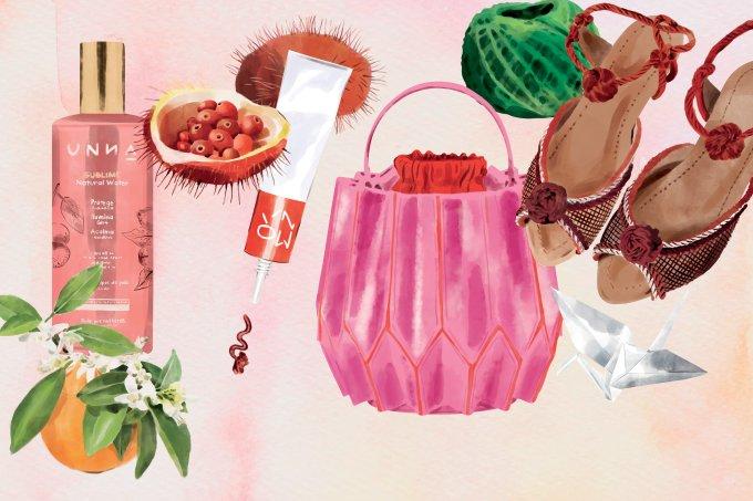 produtos de moda e beleza de pequenos produtores