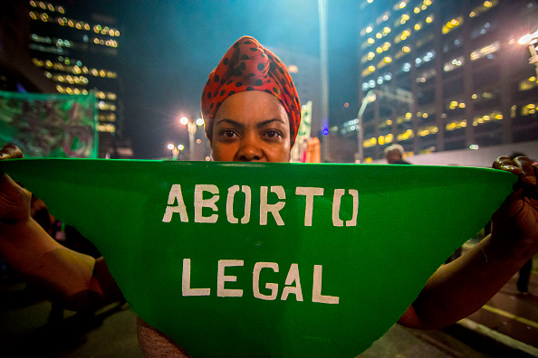 Abortion Rally In Sao Paulo