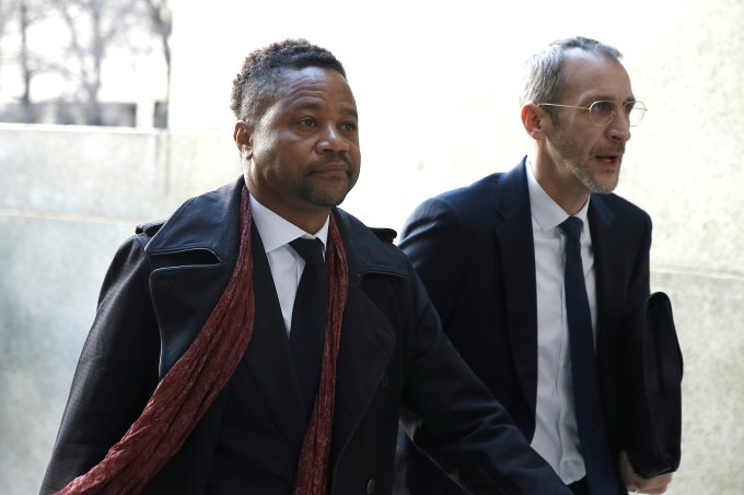 Ator Cuba Gooding Jr. é novamente acusado de abuso