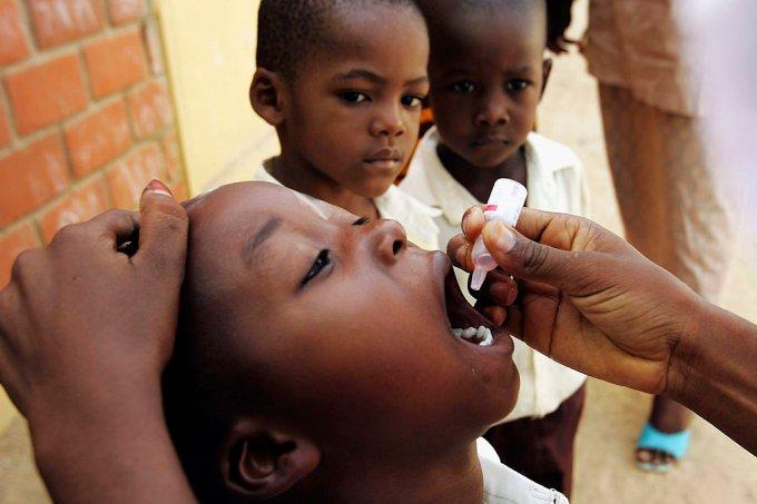 Poliomielite África