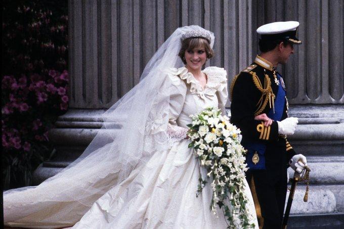 Diana e Charles casamento