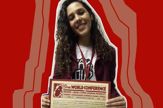 Professora Lidiane Pereira da Silva Lima, vencedora do Prêmio Educador Nota 10