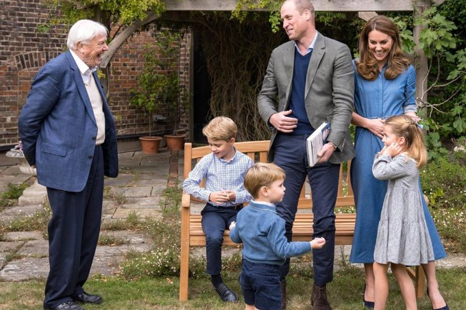 Kate William George Charlotte Louis