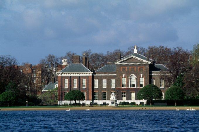 Kensington Palace corpo lago