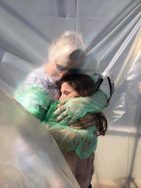 Fotografia da exposição Hold Still, de Kate Middleton. Foto: