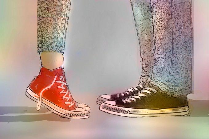 Namoro entre adolescentes