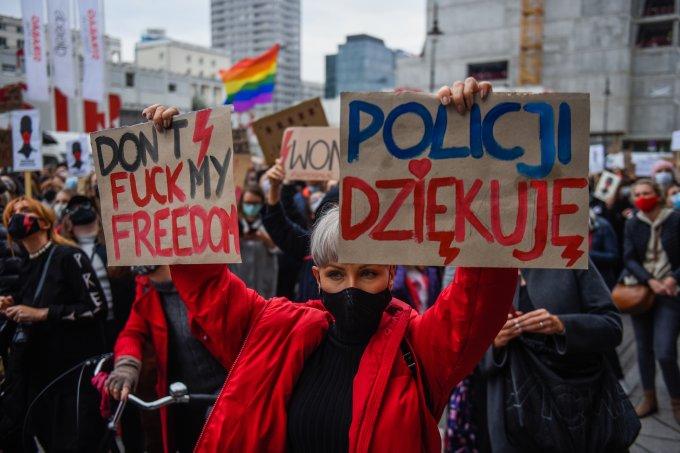 Protestos Polônia Aborto