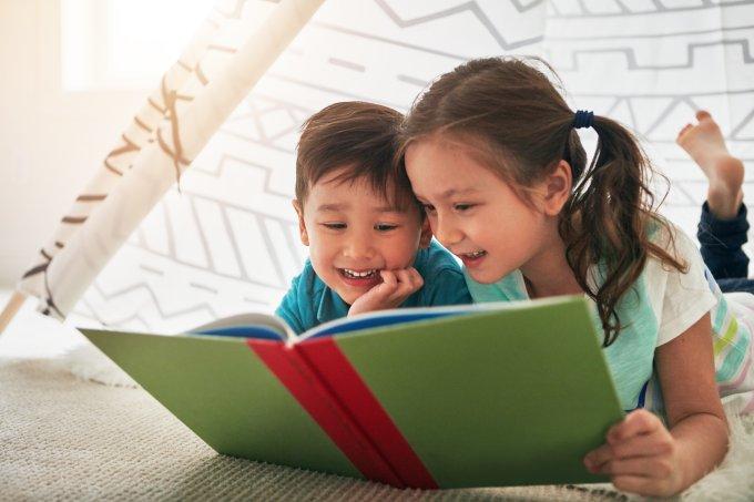 Livros Infantis Crianças Leitura