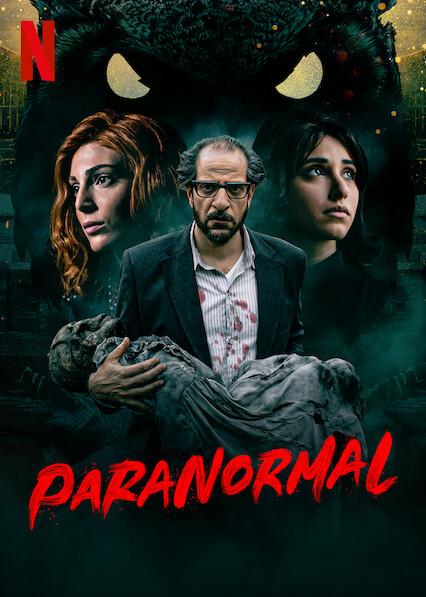 Paranormal série cartaz