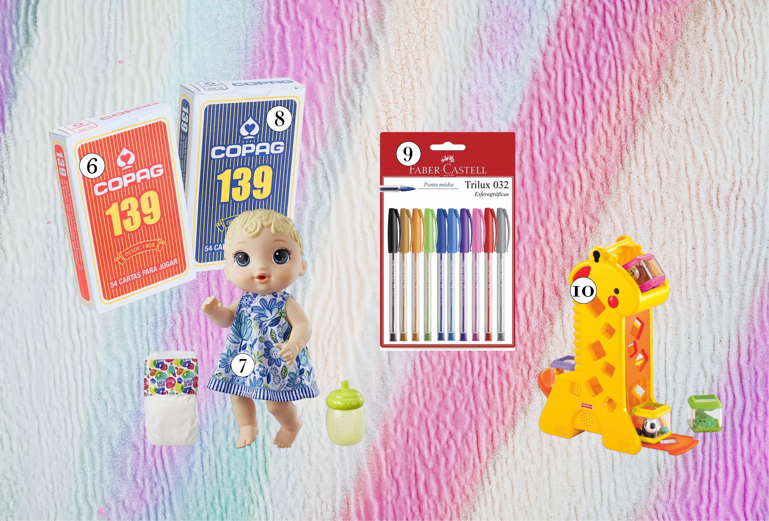 brinquedos mais vendidos na Amazon