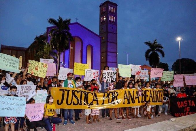 manifestação ana beatriz amazonas