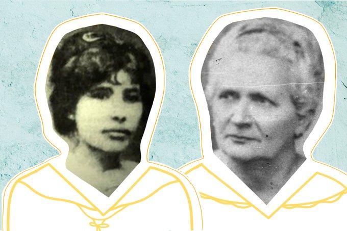 Celina Guimarães Viana e Alzira Soriano