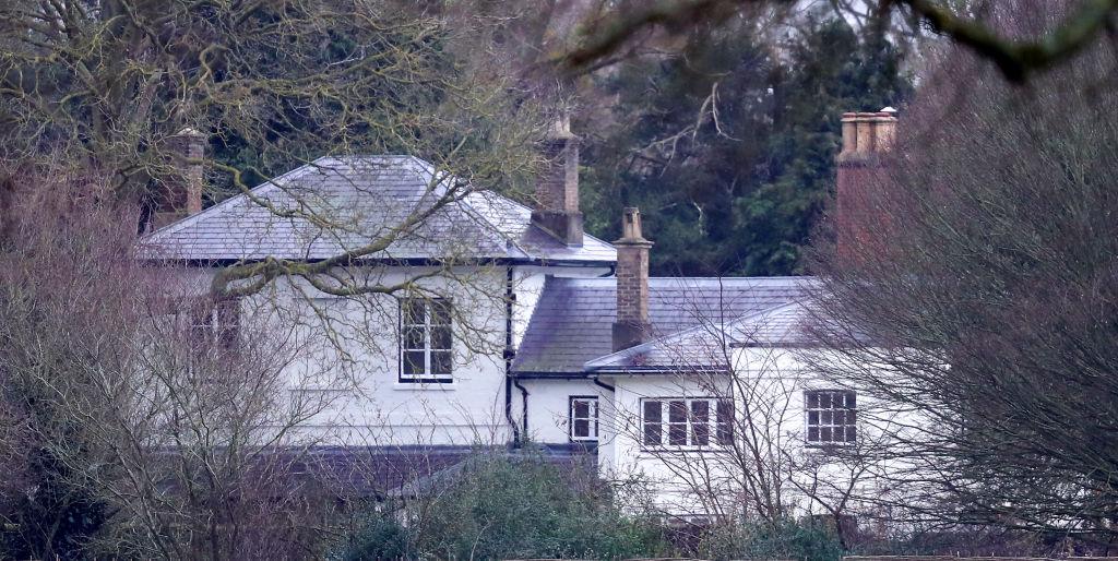 Frogmore Cottage fica nos jardins do Castelo de Windsor. Foto:
