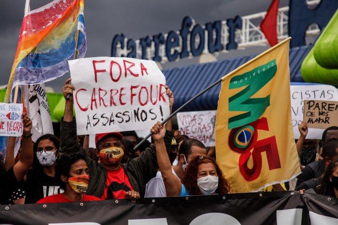 Grupo Carrefour tem histórico de violência contra negros