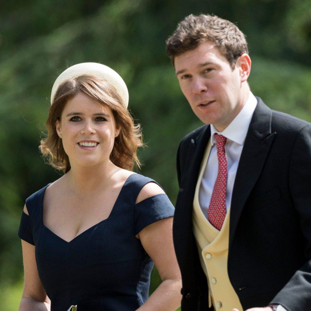 A princesa Eugenie e seu marido Jack Brooksbank. Foto: