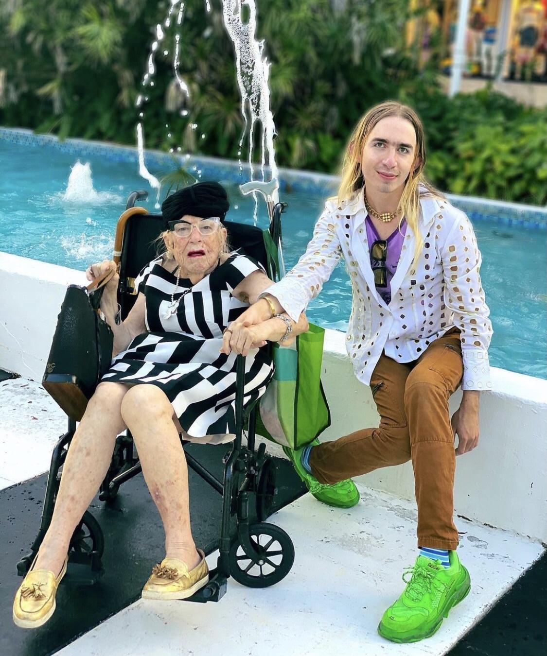 Ms Pat e o neto Gunnar