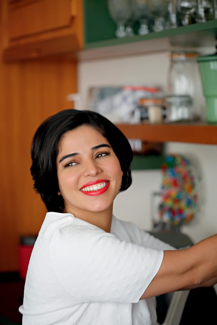 A chef Ana Luiza Trajano