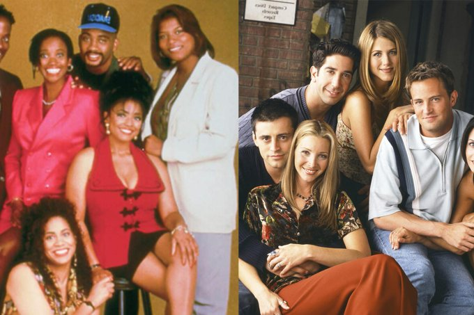 Friends e Living Single