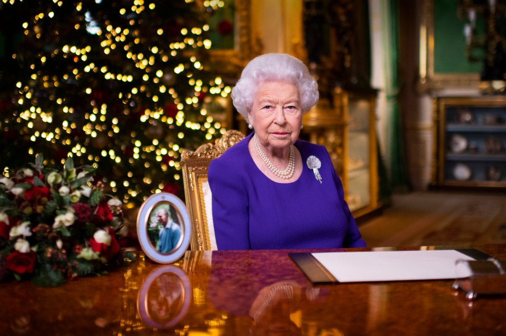 Rainha Elizabeth em seu tradicional discurso de Natal