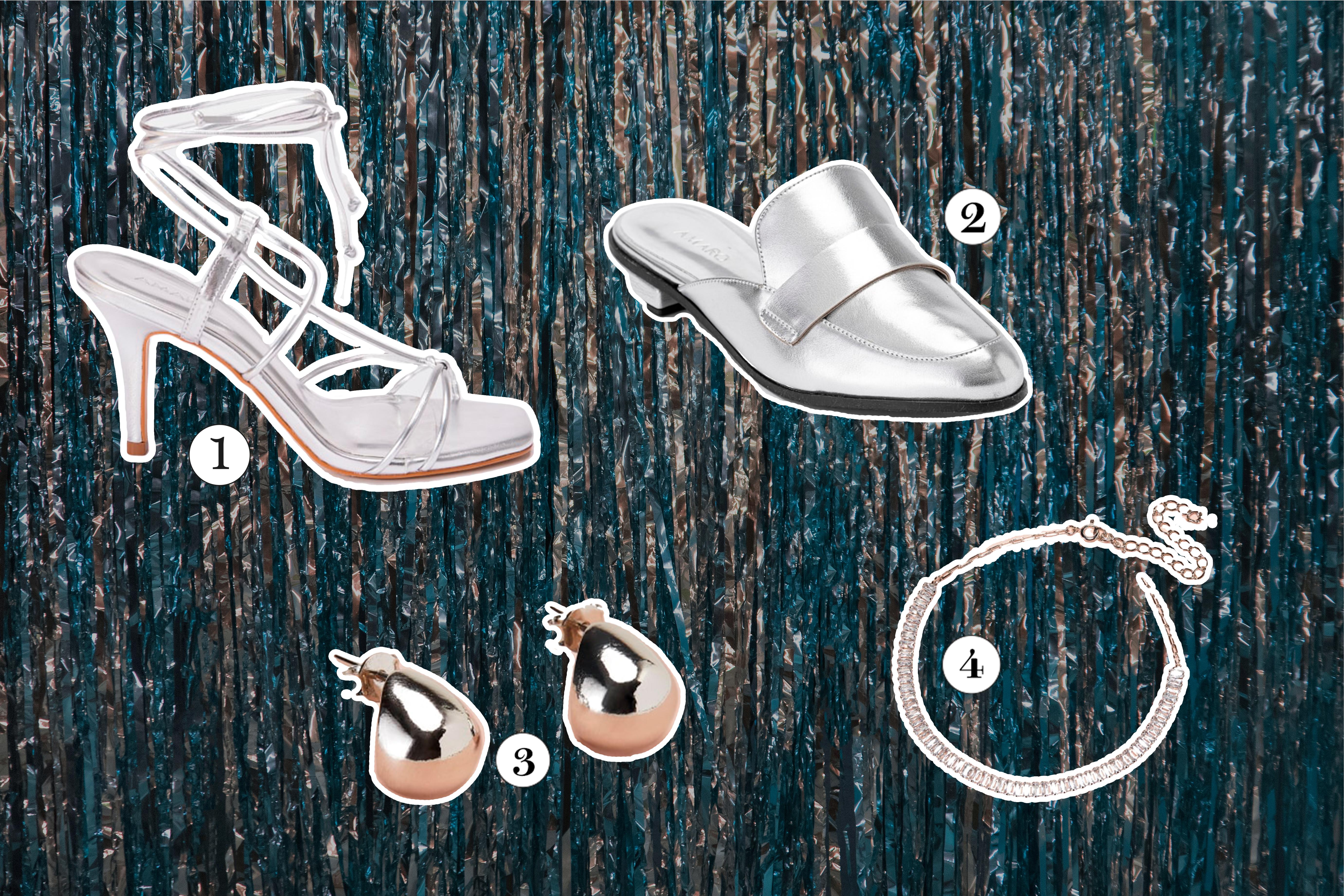Sapatos e acessórios para o Ano Novo