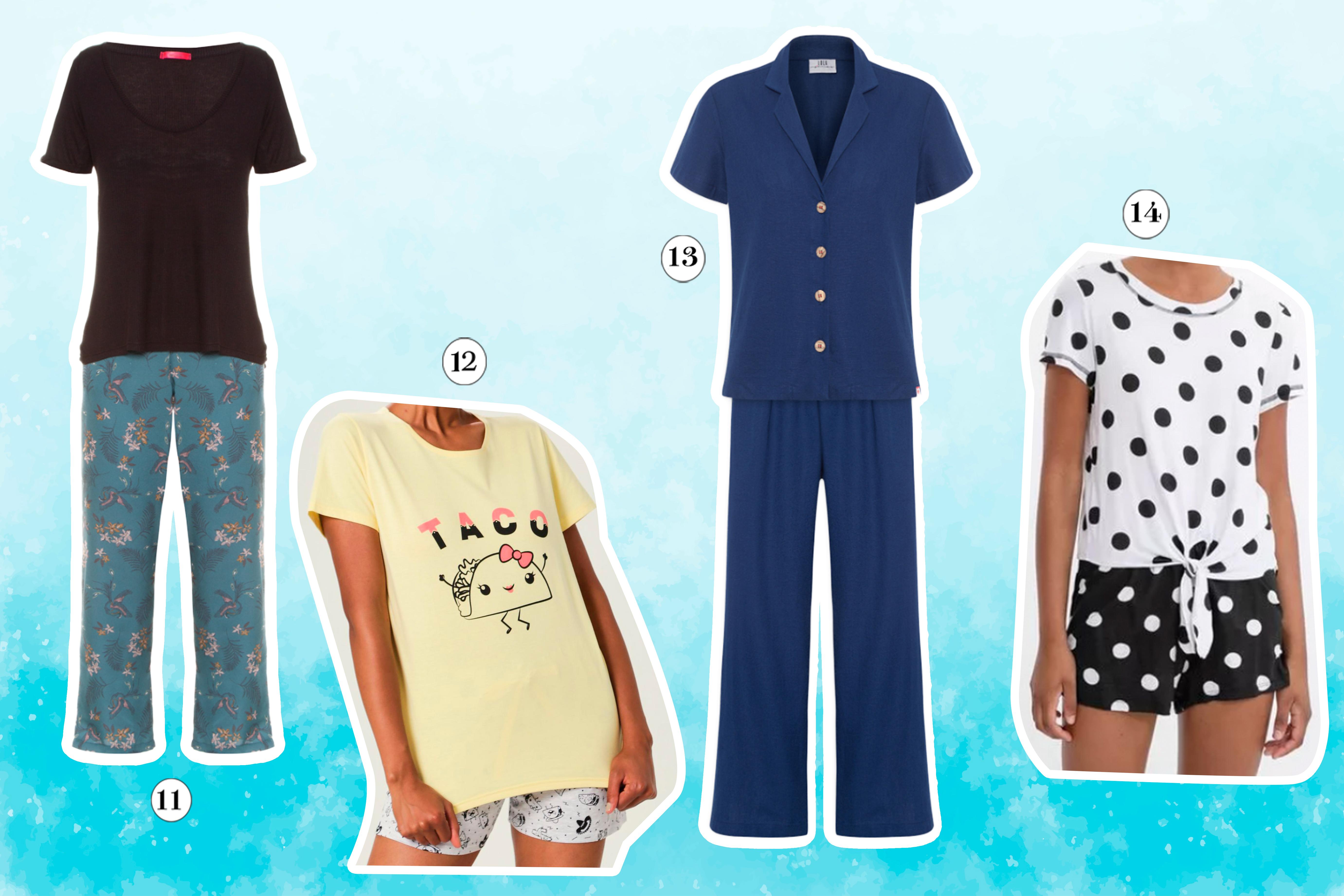 pijamas de verão
