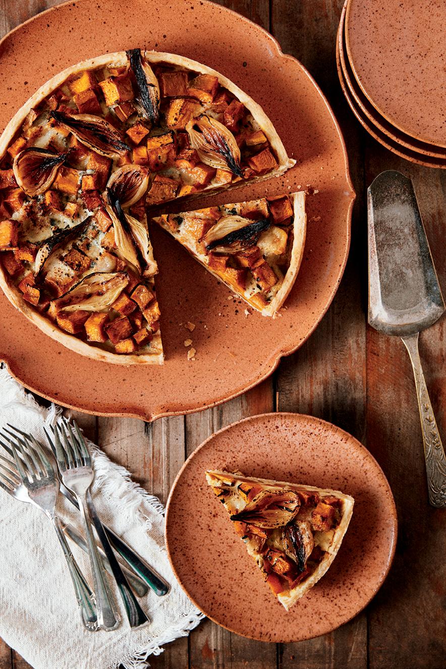 Torta de abóbora com queijo - Sabores do Brasil