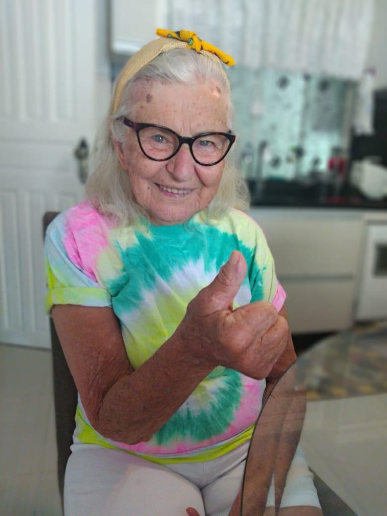 Em fevereiro, Amida Guesser Besen completa 90 anos