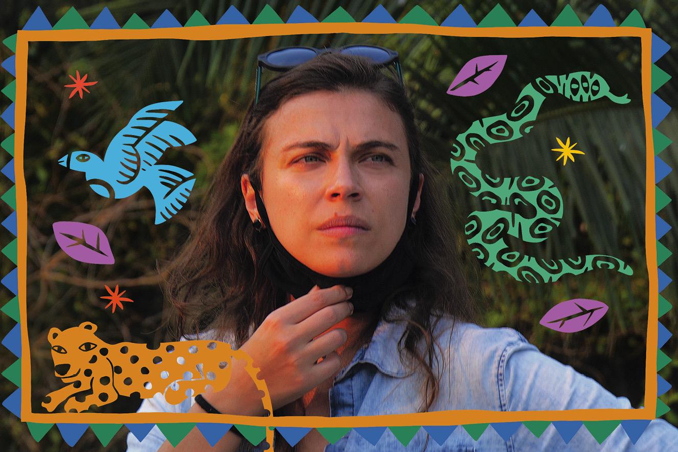 Juliana Camargo é ativista pela biodiversidade e lutou pelas espécies do Pantanal