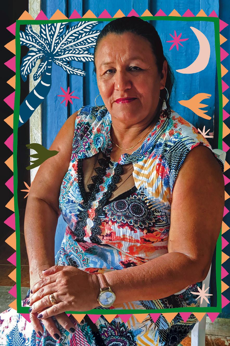 Fátima Diaz é professora de escola rural, em Porto Murtinho, no Mato Grosso do Sul