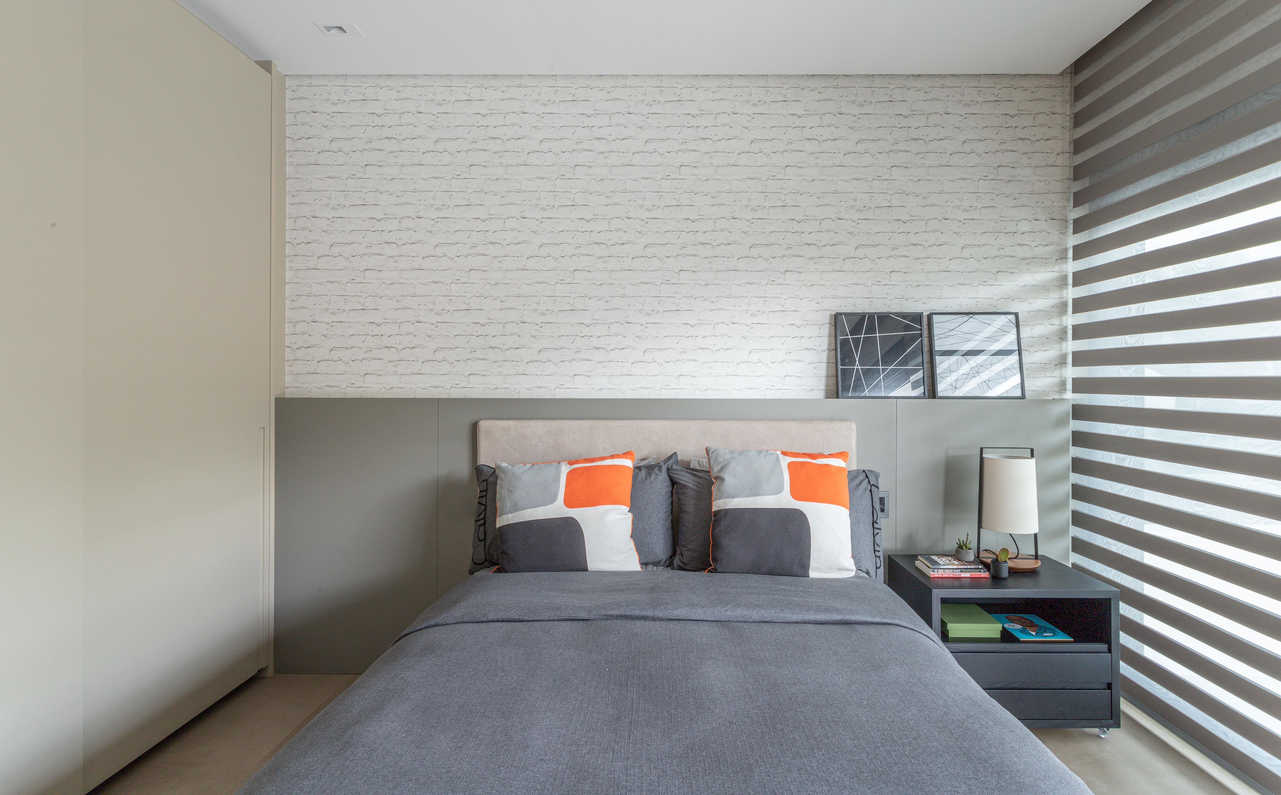 quarto com persiana