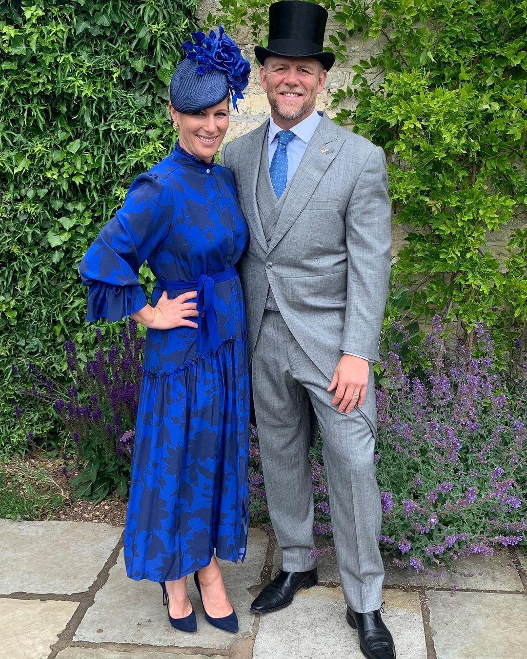 Zara Tindall e seu marido, Mike Tindall