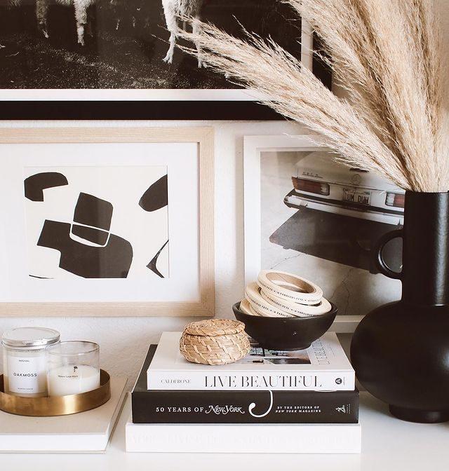 coffee table books - livros na decoração
