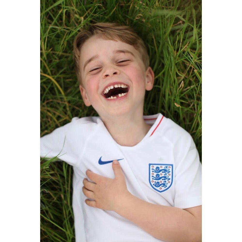 Príncipe George aos 6 anos