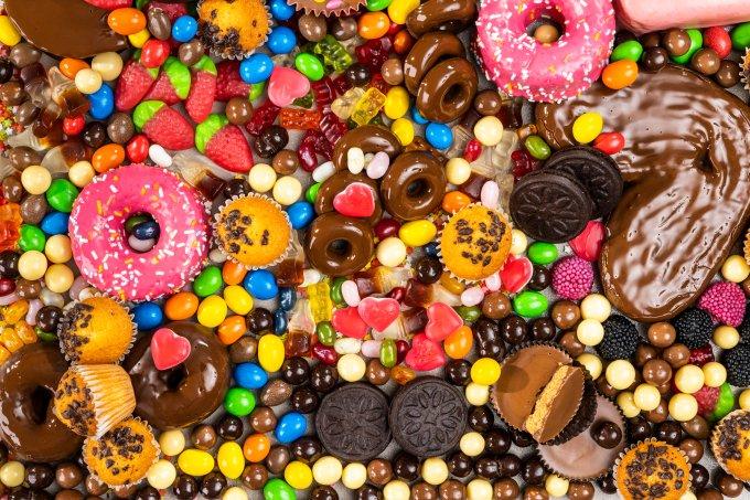 doces gordurosos
