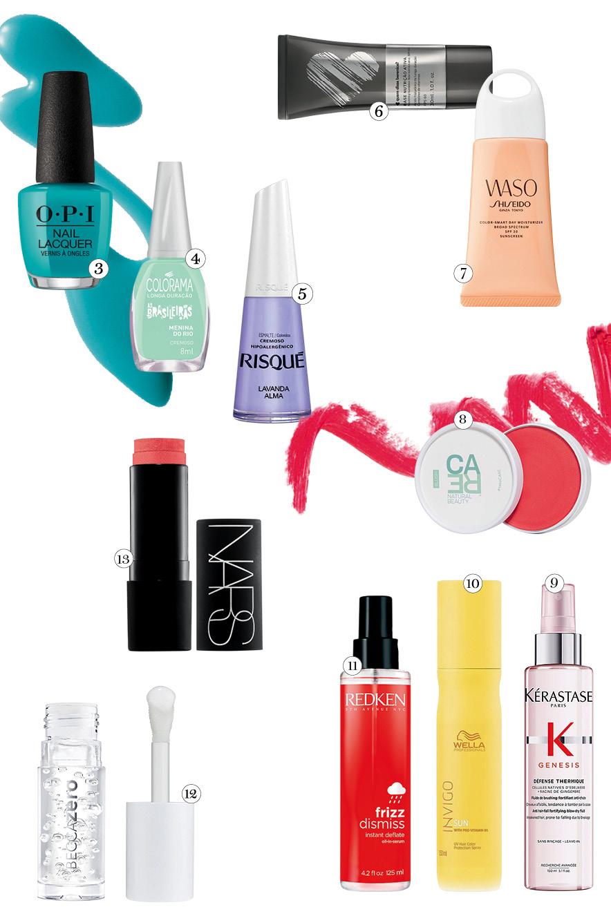 hot list - produtos beleza para o verão