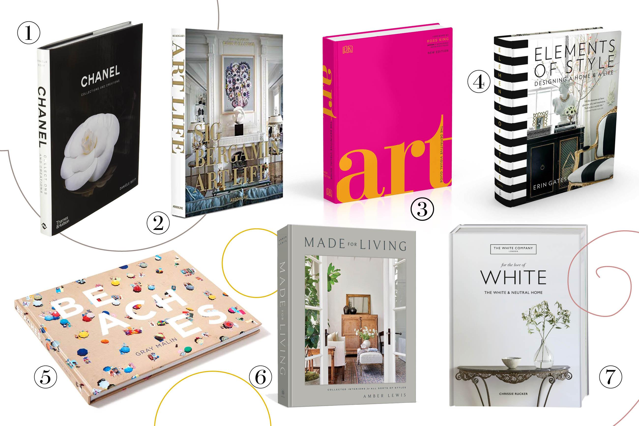 Vitrine - coffee table books - livros na decoração