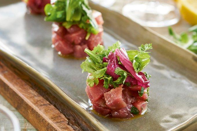 Tartar de Atum – Chef Vanessa Silva, Bistrot Parigi
