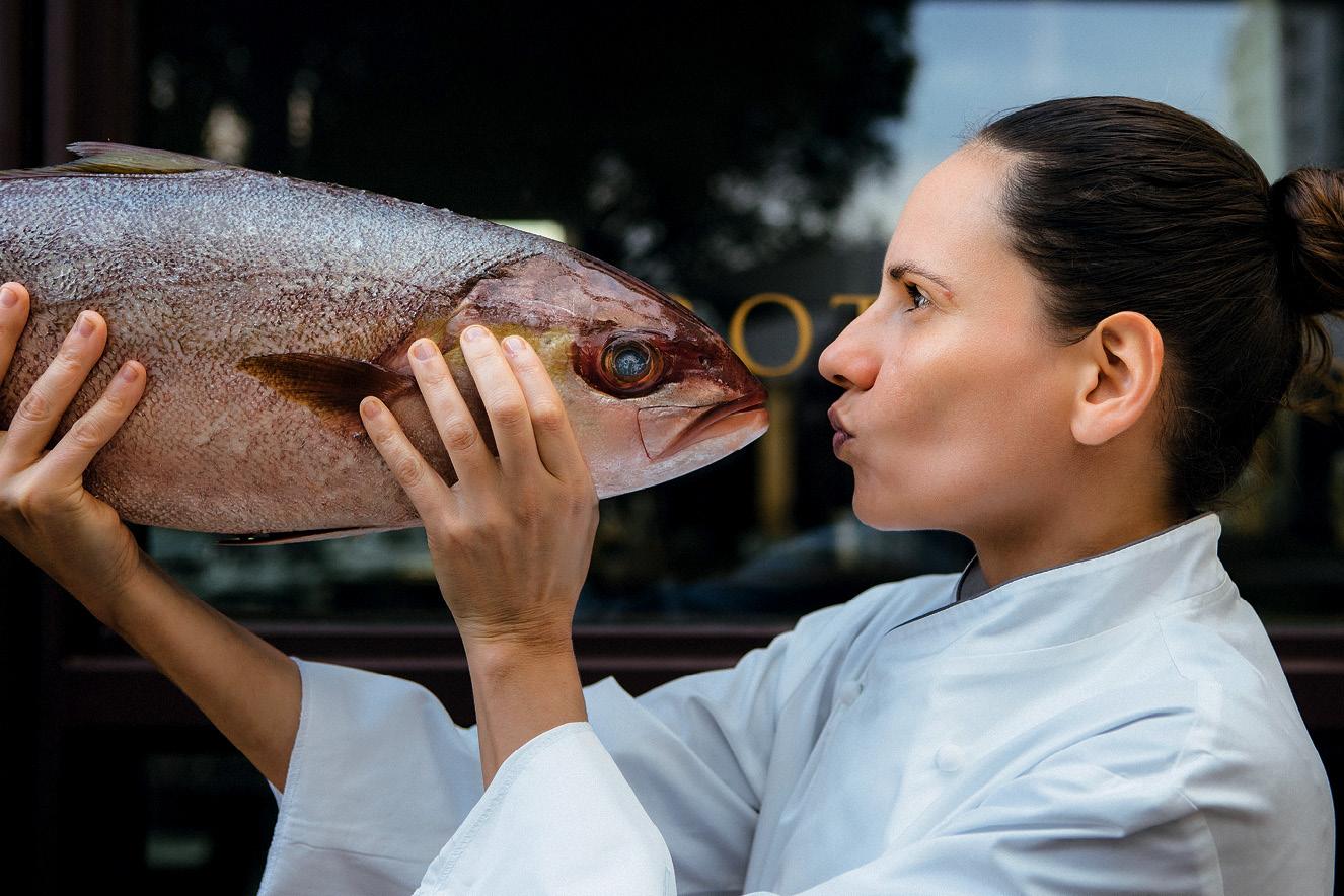 Chef Vanessa Silva, Bistrot Parigi