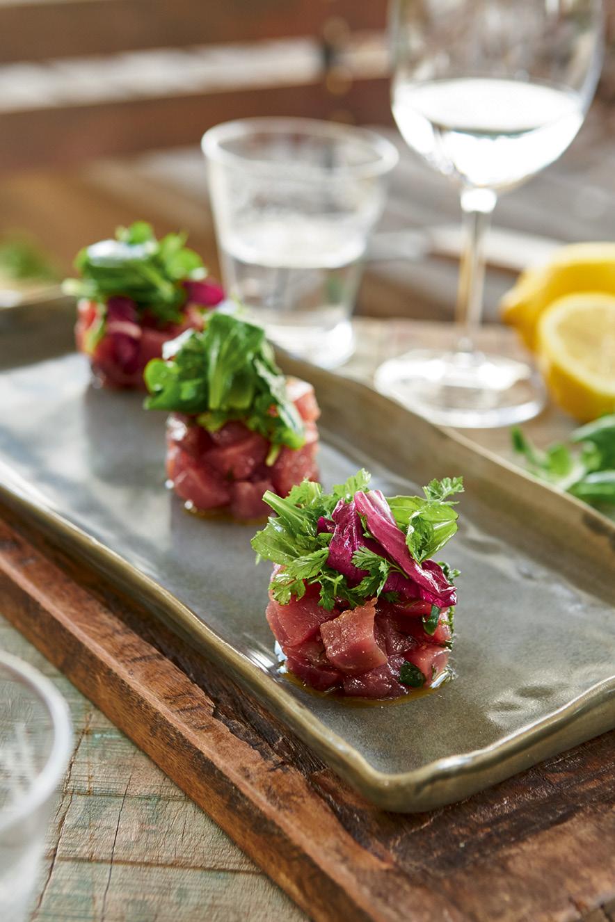 Tartar de Atum - Chef Vanessa Silva, Bistrot Parigi