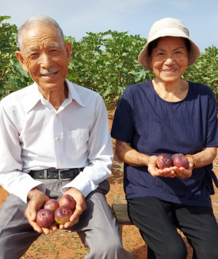 Takeo Kimura e a esposa