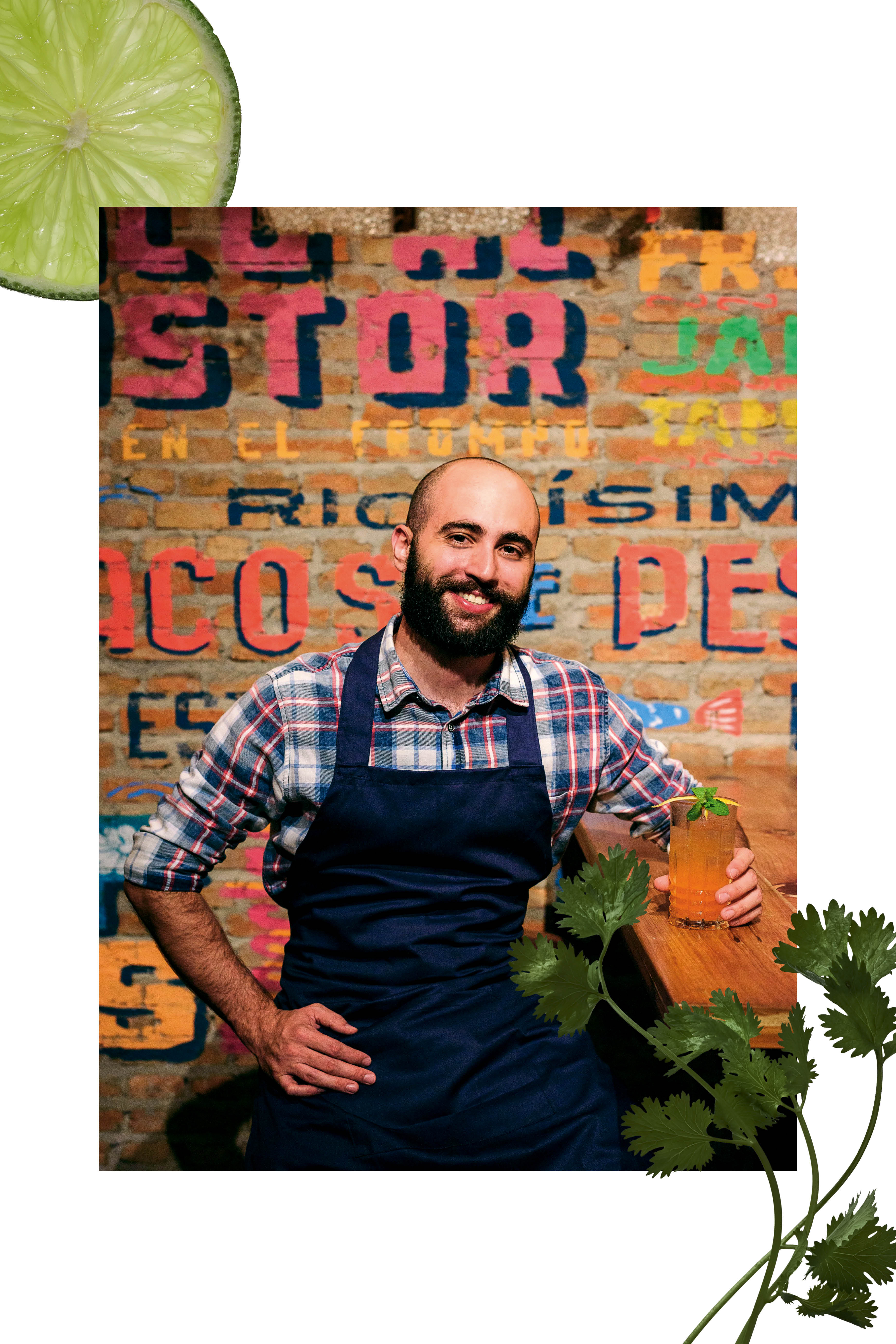 O chef Fernando Gasparetto, do Lupe Bar y Taqueria