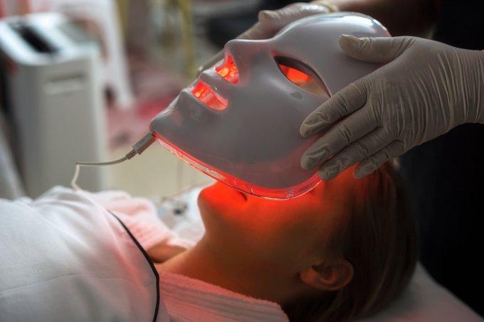 tratamento com LED pele